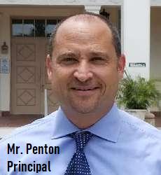 Mrt. Penton, Principal